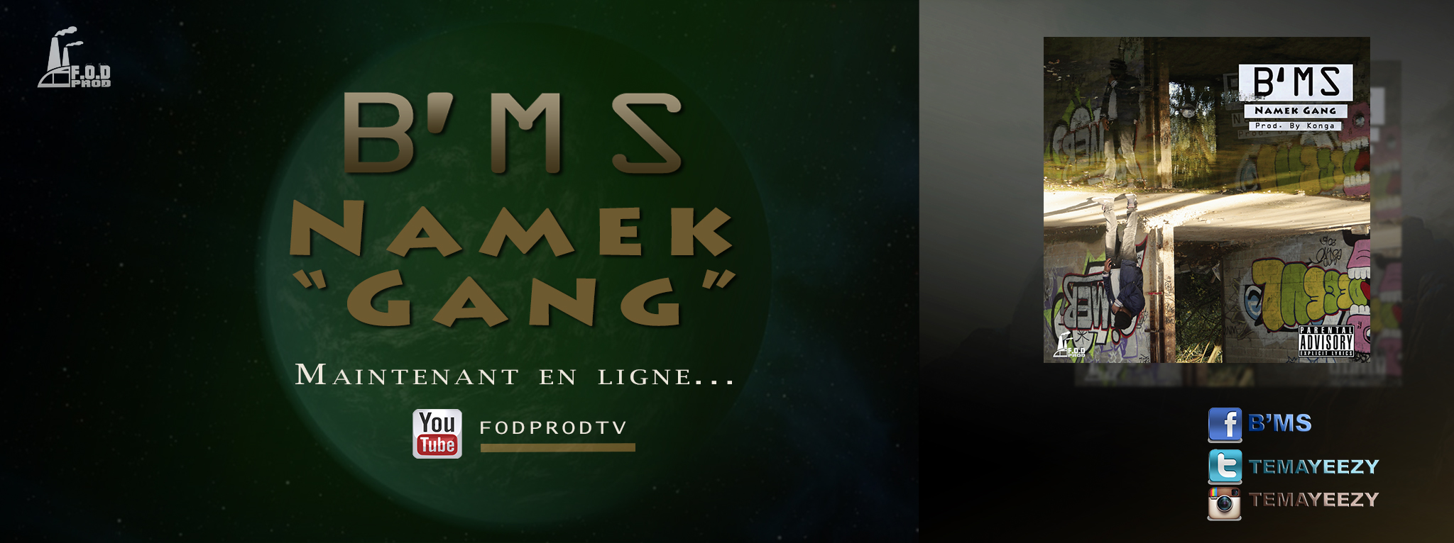 B'Ms – Namek Gang Banniere Clip