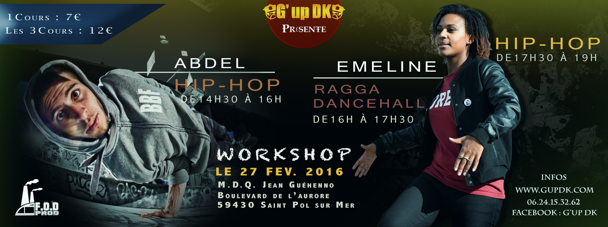 G'up Dk – Dance Hall Hip Hop 3